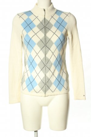 Tommy Hilfiger Strick Cardigan grafisches Muster Casual-Look