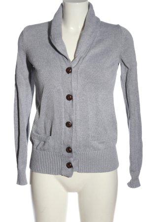 Tommy Hilfiger Cardigan tricotés gris clair style décontracté