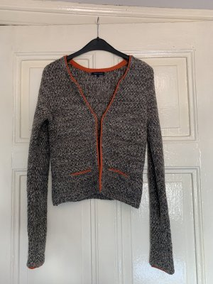 Tommy Hilfiger Giacca in maglia arancione-grigio