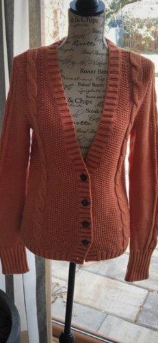Tommy Hilfiger Veste en tricot orange fluo