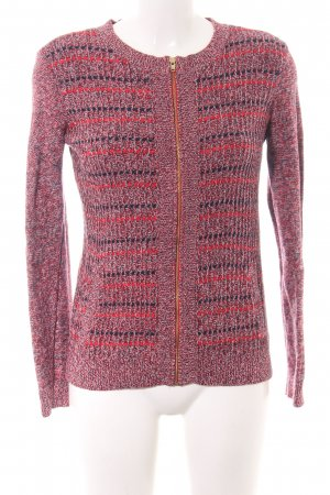 Tommy Hilfiger Strickjacke pink-rot meliert Casual-Look