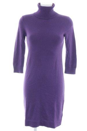 Tommy Hilfiger Gebreide jurk lila casual uitstraling
