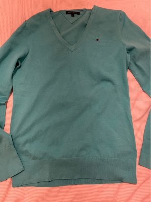 Tommy Hilfiger Knitted Sweater turquoise