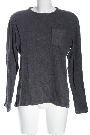 Tommy Hilfiger Pull tricoté gris clair style décontracté