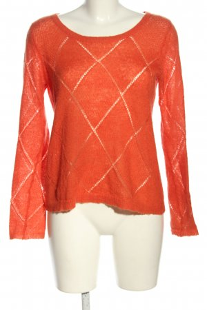 Tommy Hilfiger Strickpullover hellorange Casual-Look