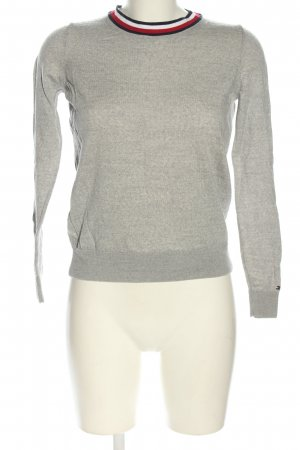 Tommy Hilfiger Knitted Sweater light grey flecked casual look