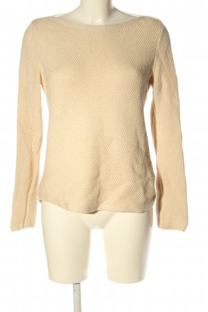 Tommy Hilfiger Strickpullover nude Allover-Druck Casual-Look