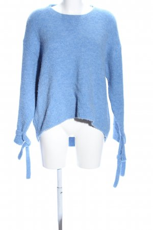 Tommy Hilfiger Strickpullover blau meliert Casual-Look