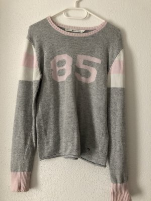 Tommy Hilfiger Knitted Sweater silver-colored-pink
