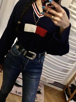Tommy Hilfiger Strickpullover Pullover Sweatshirt Gr:L