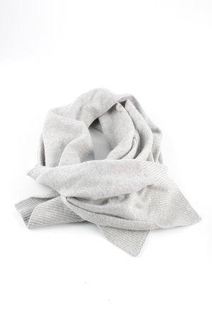 Tommy Hilfiger Écharpe en tricot gris clair style décontracté