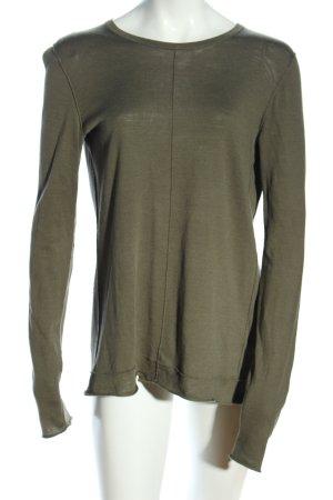 Tommy Hilfiger Strickshirt khaki Casual-Look