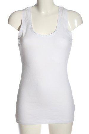 Tommy Hilfiger Haut tricotés blanc style décontracté