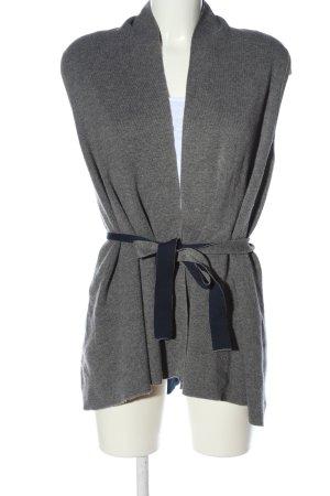 Tommy Hilfiger Gilet tricoté gris clair moucheté style décontracté