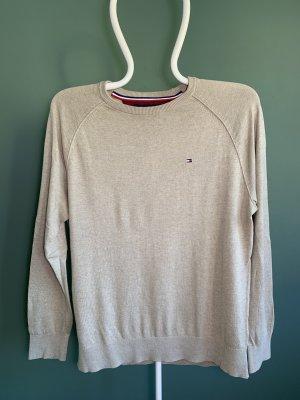 Tommy Hilfiger, Sweater/Pullover, Größe M, Herren, Beige