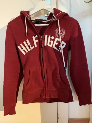 Tommy Hilfiger Giacca fitness bordeaux