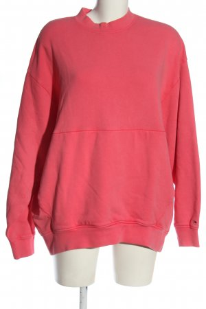 Tommy Hilfiger Sweatshirt roze gedrukte letters casual uitstraling