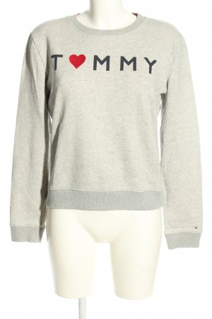 Tommy Hilfiger Sweatshirt Motivdruck Casual-Look