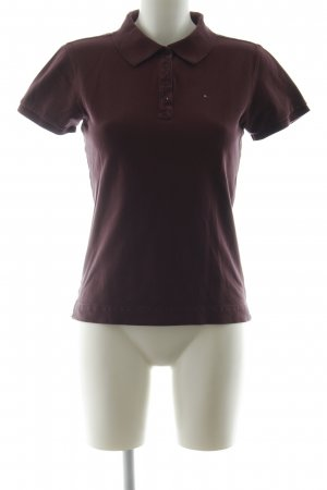 Tommy Hilfiger Sweatshirt braunviolett Casual-Look