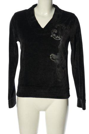 Tommy Hilfiger Sweatshirt schwarz-hellgrau Casual-Look