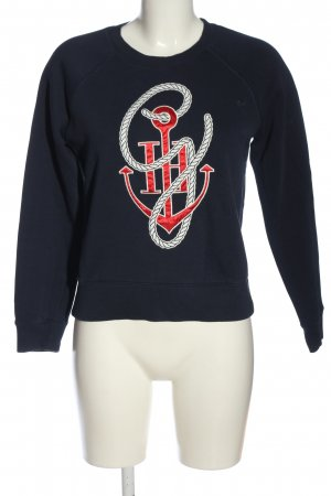 Tommy Hilfiger Sweatshirt Motivdruck Casual-Look