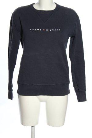 Tommy Hilfiger Sweatshirt blau Casual-Look