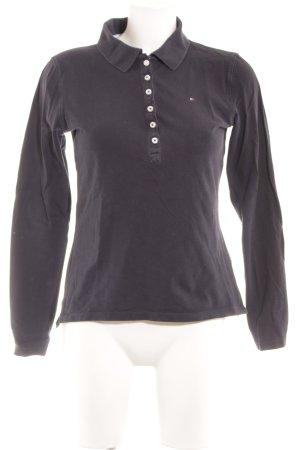 Tommy Hilfiger Sweatshirt dunkelblau Business-Look
