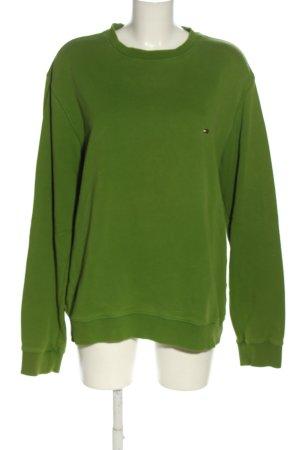 Tommy Hilfiger Sweatshirt grün Casual-Look
