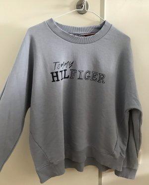 Tommy Hilfiger Sweatshirt zwart-azuur