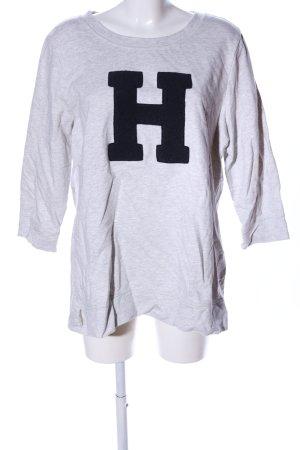 Tommy Hilfiger Sweatshirt hellgrau meliert Casual-Look