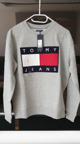 Tommy Hilfiger Sweatshirt hellgrau Neu