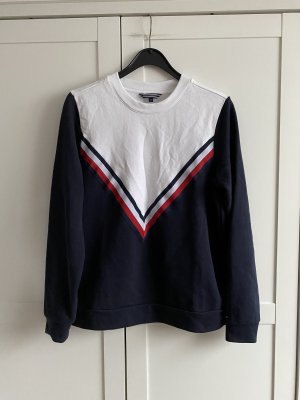 Tommy Hilfiger Bluza dresowa biały-ciemnoniebieski