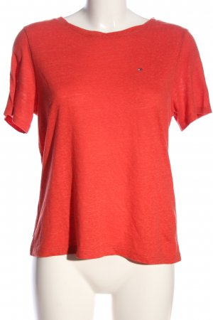 Tommy Hilfiger T-Shirt rot Casual-Look