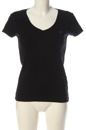 Tommy Hilfiger T-shirt noir style décontracté