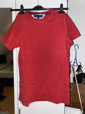 Tommy Hilfiger Top extra-large rouge foncé