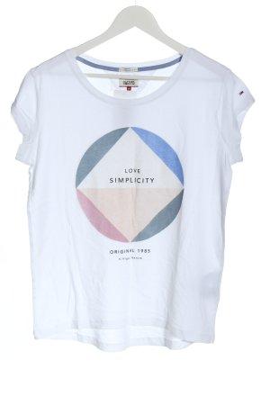 Tommy Hilfiger T-shirt prints met een thema casual uitstraling