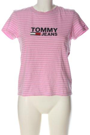 Tommy Hilfiger T-Shirt Schriftzug gedruckt Casual-Look