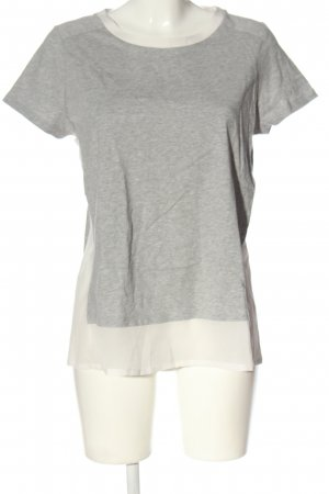 Tommy Hilfiger T-Shirt hellgrau-weiß meliert Casual-Look