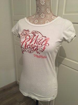 Tommy Hilfiger Denim Camiseta blanco-rojo