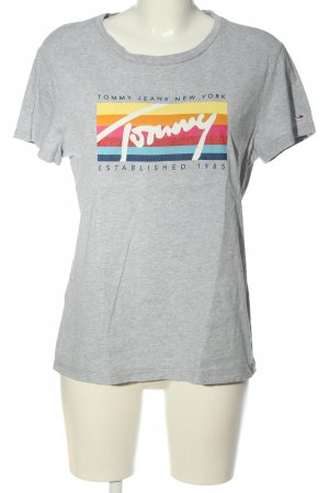 Tommy Hilfiger T-Shirt meliert Casual-Look