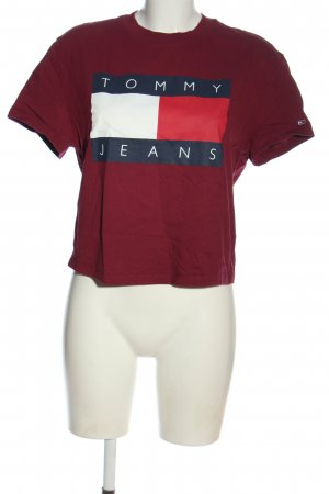 Tommy Hilfiger T-Shirt Motivdruck Casual-Look