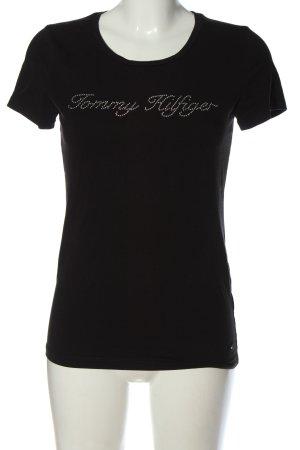 Tommy Hilfiger T-shirt czarny W stylu casual