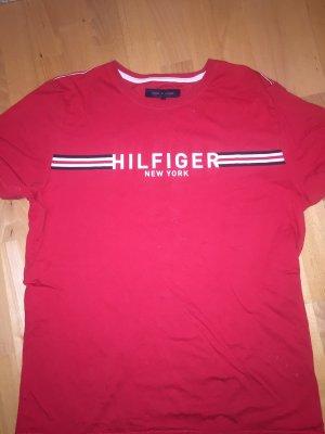 Tommy Hilfiger T-shirt rosso-bianco