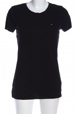 Tommy Hilfiger T-Shirt schwarz Casual-Look