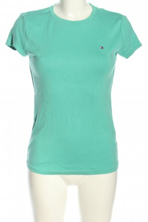 Tommy Hilfiger T-Shirt türkis Casual-Look