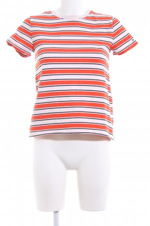 Tommy Hilfiger T-Shirt Streifenmuster Casual-Look