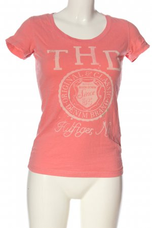 Tommy Hilfiger T-Shirt pink Motivdruck Casual-Look