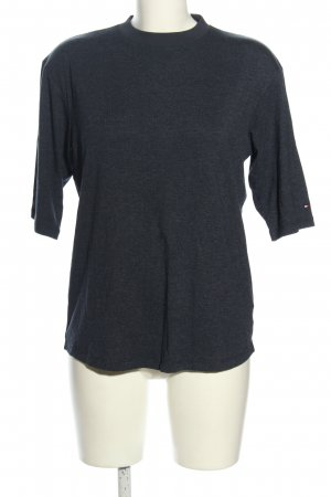 Tommy Hilfiger T-Shirt blau meliert Casual-Look