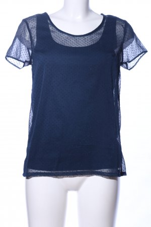 Tommy Hilfiger T-Shirt blau Punktemuster Casual-Look