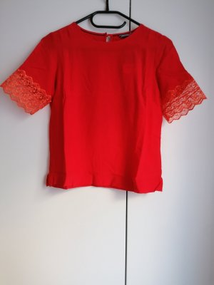 Tommy Hilfiger T-Shirt cropped rot US 4 XS 34